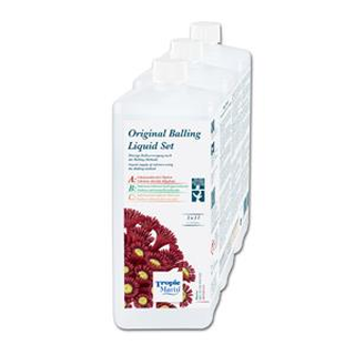 Tropic Marin BIO-CALCIUM ORIGINAL BALLING Liquid Set 3 x 1.000 ml